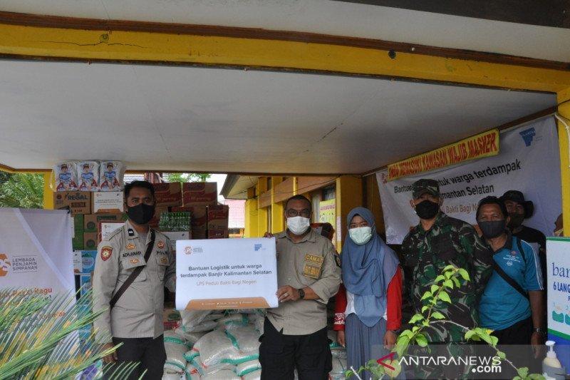 LPS salurkan bantuan untuk korban banjir Kalimantan Selatan