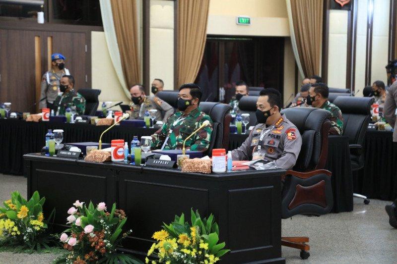 Rapim 2021 solidkan TNI-Polri mengawal vaksinasi dan pulihkan ekonomi
