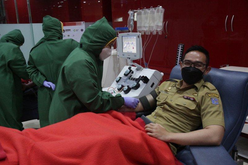 40 ASN Surabaya dinyatakan lolos screening untuk donor plasma