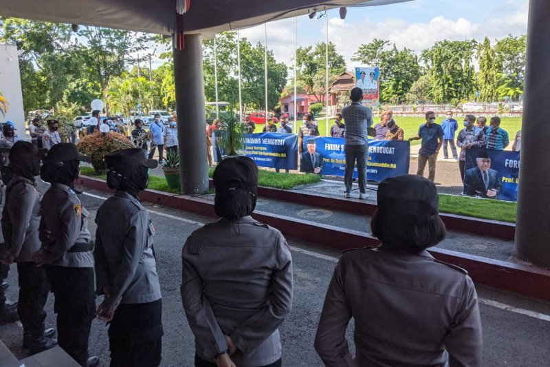 Tudingan radikal terhadap Din Syamsuddin, Forum Sumbawa Menggugat gelar aksi unjuk rasa