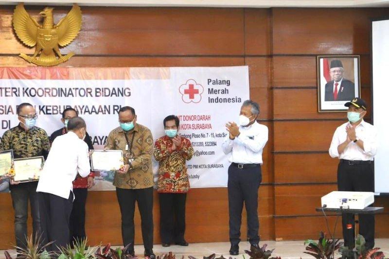 Menko PMK apresiasi Pelindo III dukung Gerakan Nasional Donor Plasma