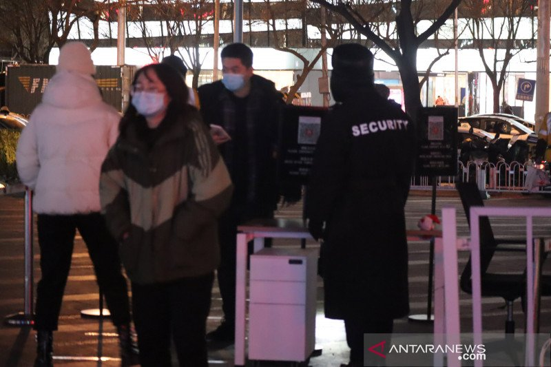 89.000 orang diamankan atas pelanggaran keluar-masuk China