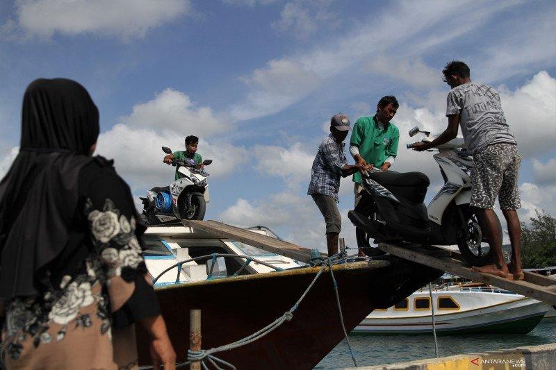 Transportasi antar pulau di Baubau