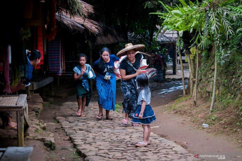 Angka kematian ibu di pemukiman Baduy relatif kecil