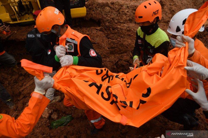 Hari keenam, petugas fokus cari satu korban tanah longsor Nganjuk