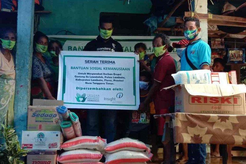 Insight Investments bantu korban gempa Sulbar dan erupsi Lewotolok