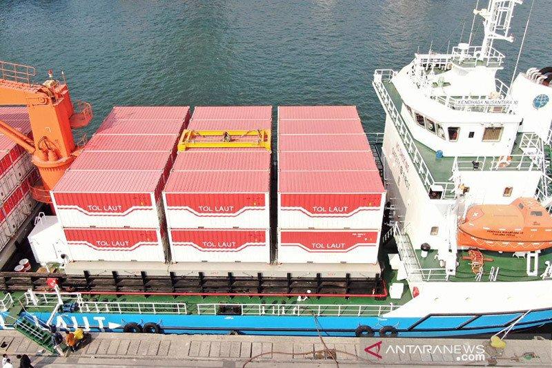 Terbukti turunkan harga, Kemenhub terus buka trayek baru tol laut