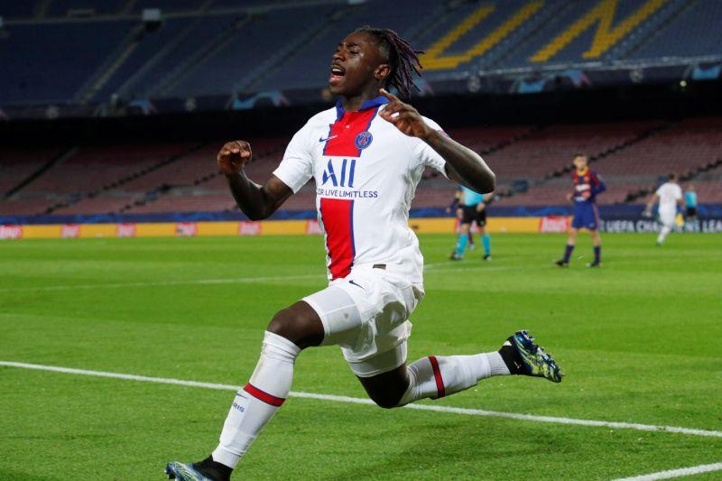 antarafoto spain soccer championsleague psg 17022021 - SatuPos.com