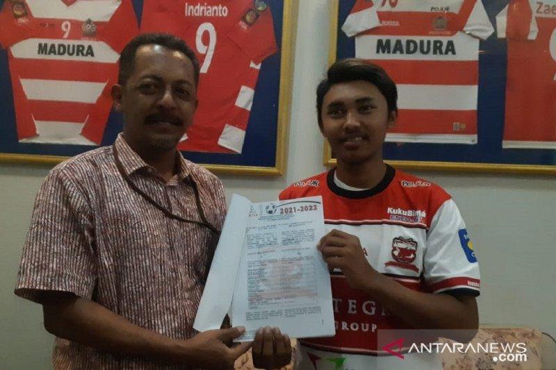 Madura United kontrak pemain lokal untuk Liga 1 2021