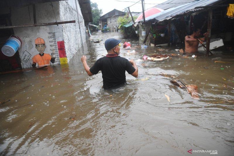 Wagub sebut 20 RT terendam banjir di Jakarta Kamis petang