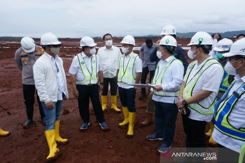 Batang pastikan pembangunan infrastruktur KITB selesai tepat waktu