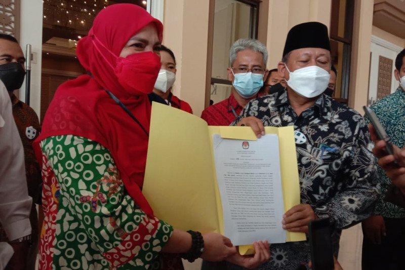 Akhirnya KPU tetapkan Wali Kota dan Wawali Bandarlampung terpilih