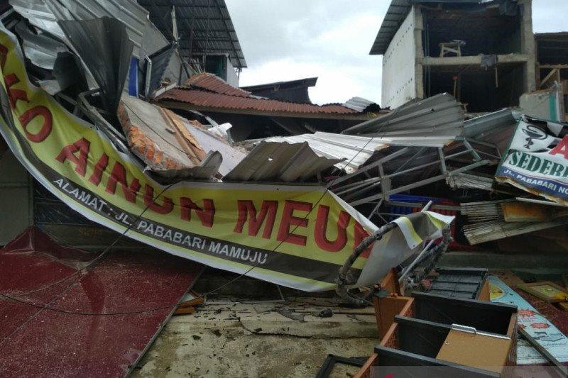 BNPB: 60 rumah rusak ringan pascagempa M 5,2 Halmahera Selatan