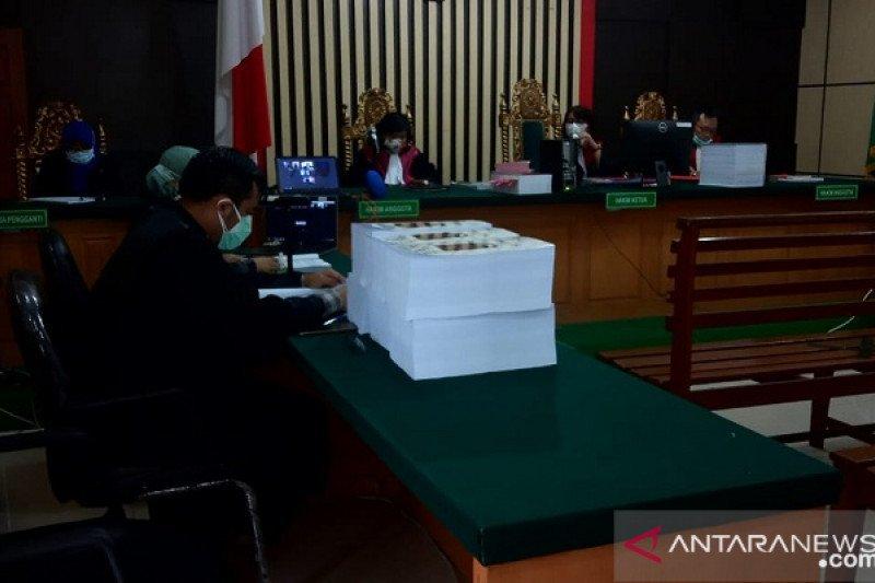 Mantan Ketua DPRD Jambi dituntut hukuman enam tahun penjara