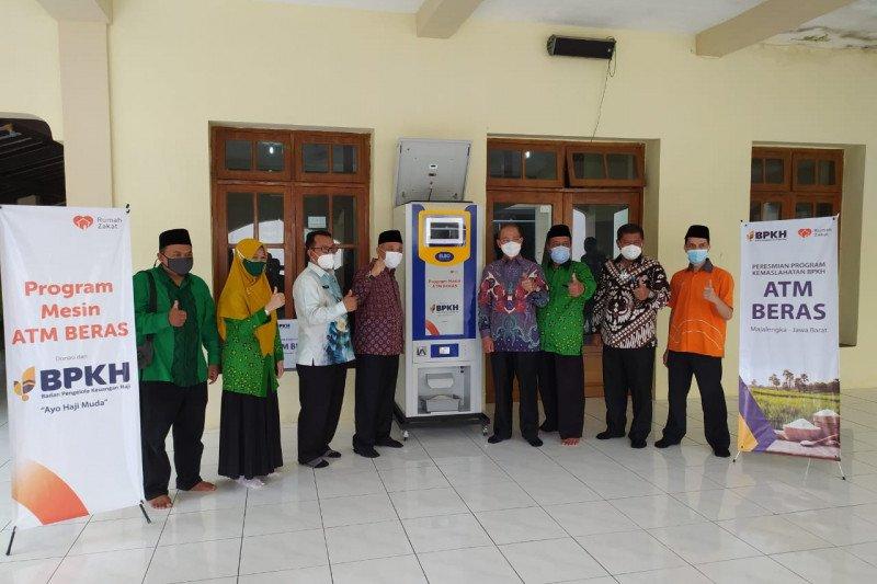 BPKH-Rumah Zakat luncurkan Program Lumbung Padi dan ATM Beras
