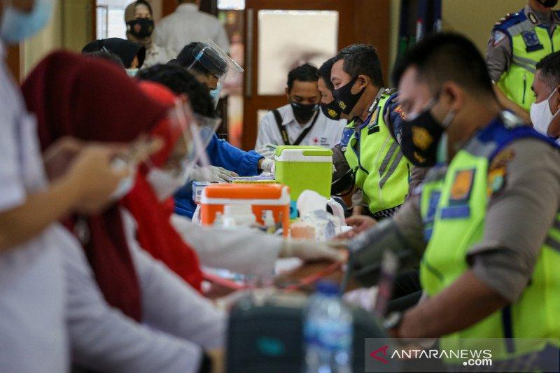 Polisi penyintas COVID-19 ikuti donor plasma konvalesen