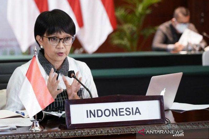 "Lakukan ""shuttle diplomacy"", Menlu RI bahas isu Myanmar dengan ASEAN"