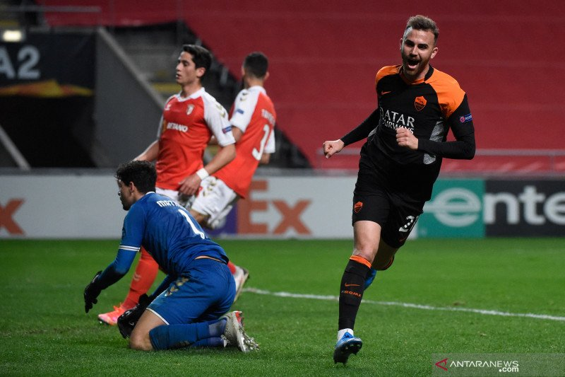 AS Roma ukir kemenangan 2-0 saat melawat ke markas Braga