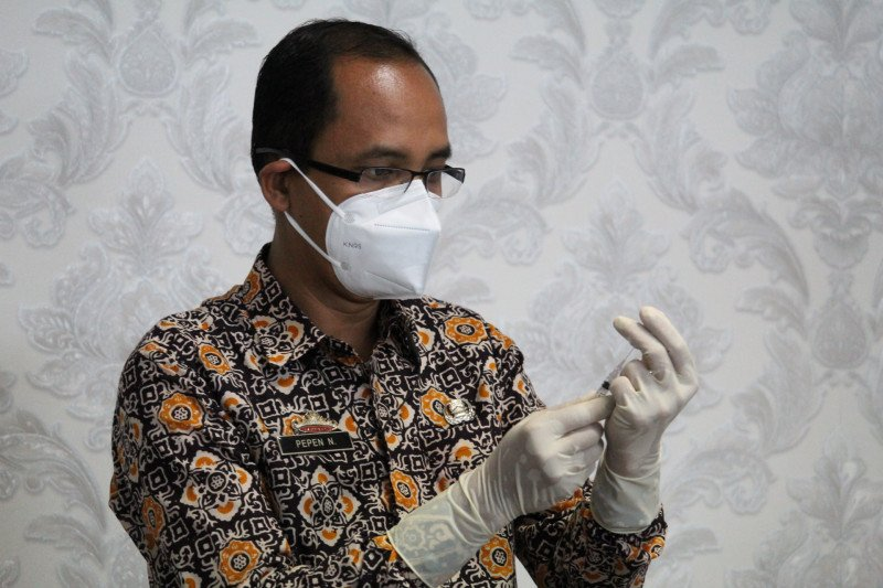 28.763 nakes Lampung telah divaksin selama lima minggu terakhir