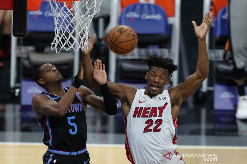 Miami Heat tekuk Chicago Bulls 101-90