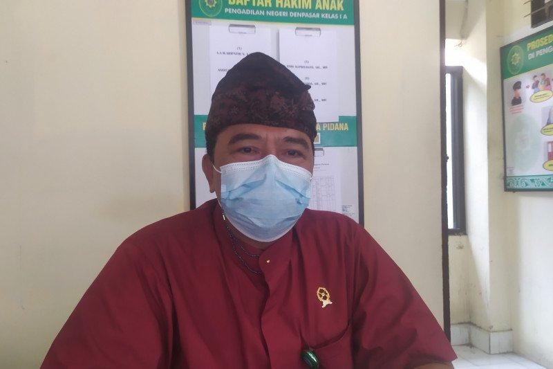 Perceraian mendominasi sidang di PN Denpasar pada masa pendemi COVID