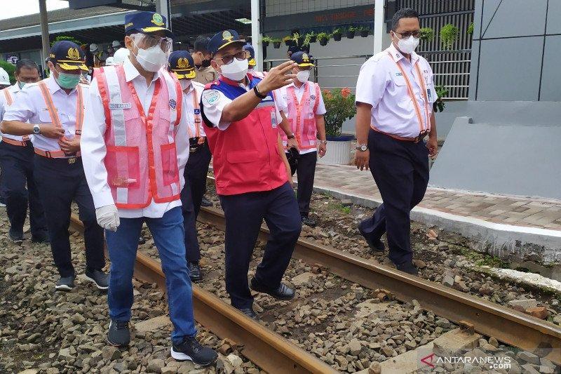 Puji tes Genose C19 di Stasiun Bandung, Menhub: Sudah ada peningkatan