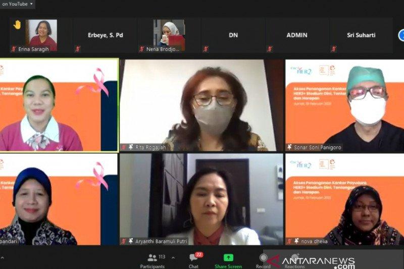 Kemkes: Kanker payudara duduki urutan pertama insiden kanker Indonesia