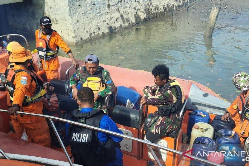 Tim SAR Timika belum temukan enam penumpang KM Uty Star