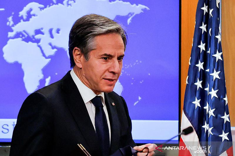 Blinken beri tahu Ghani bahwa AS dukung proses perdamaian Afghanistan