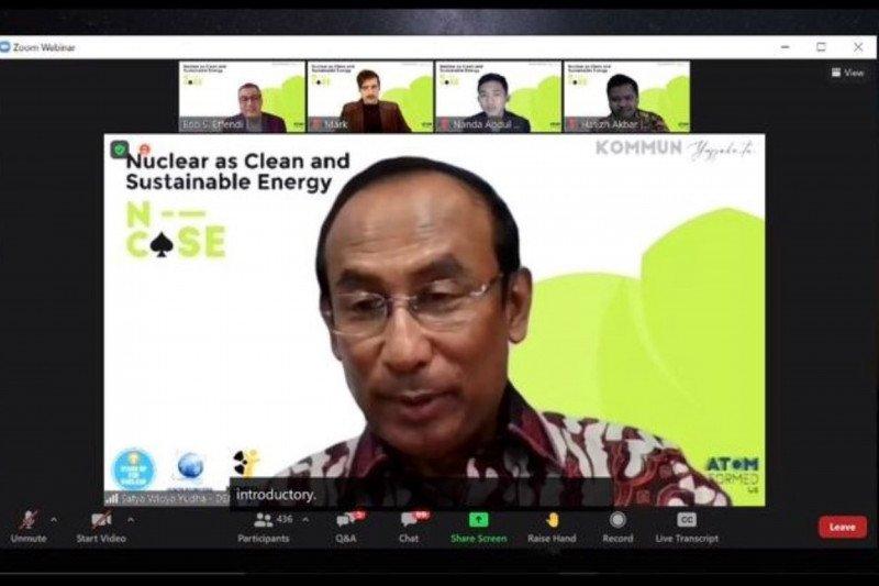 DEN: Pemenuhan syarat fase 1 IAEA tentukan Indonesia bisa Go Nuklir