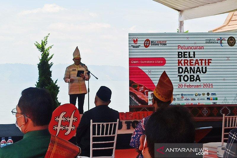 Menparekraf optimistis Beli Kreatif Danau Toba mampu bangkitkan UMKM
