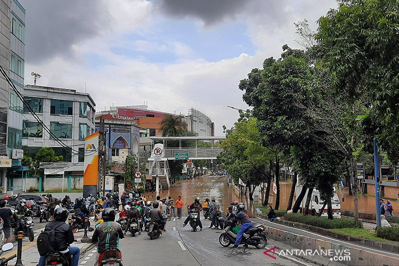 Ini 25 titik banjir di jalanan Jakarta Selatan
