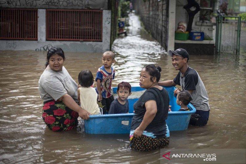 Banjir Jakarta sebabkan 139 RT terdampak dan 1.380 jiwa mengungsi