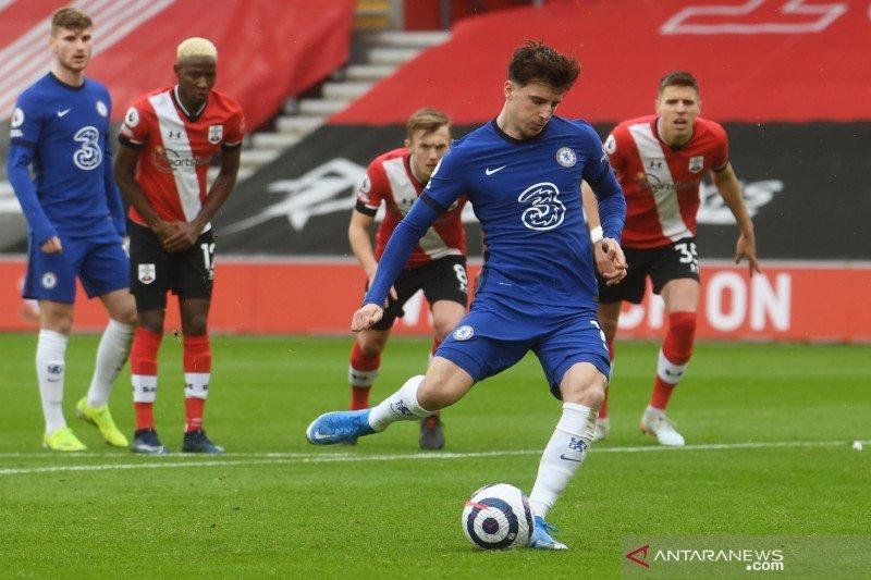 Liga Inggris : Southampton tahan Chelsea 1-1