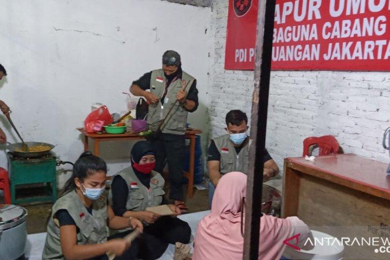 PDI Perjuangan siapkan dapur umum bantu korban banjir Jakarta