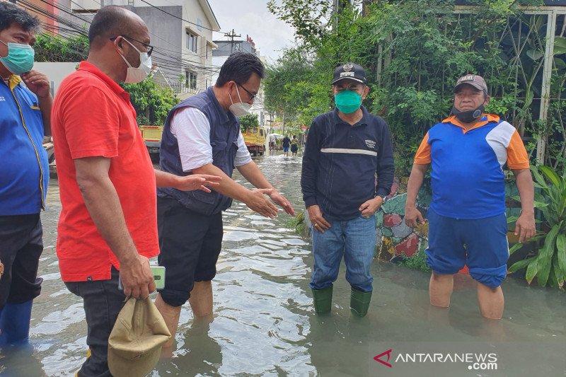 Jakarta Pusat targetkan banjir Pasar Baru surut kurang dari 6 jam