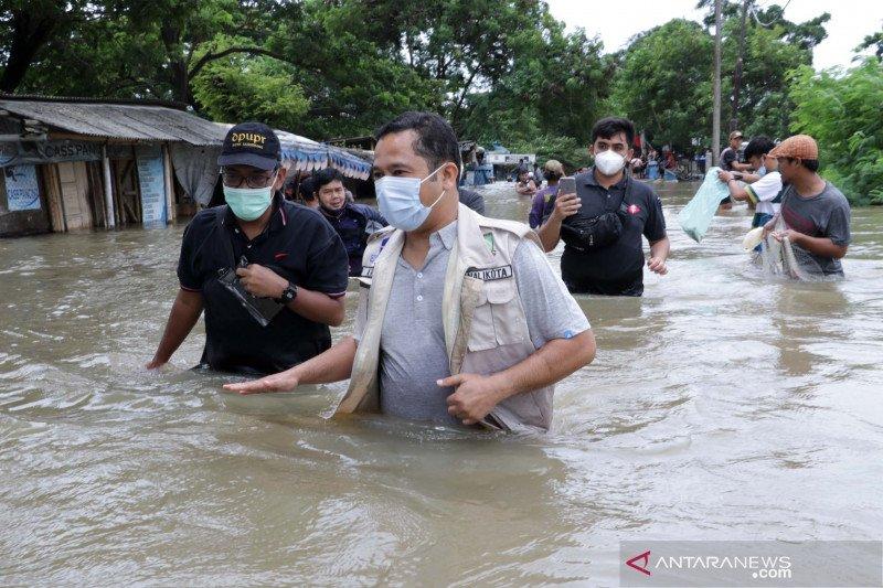 Banjir di Kota Tangerang berdampak ke sembilan wilayah kecamatan