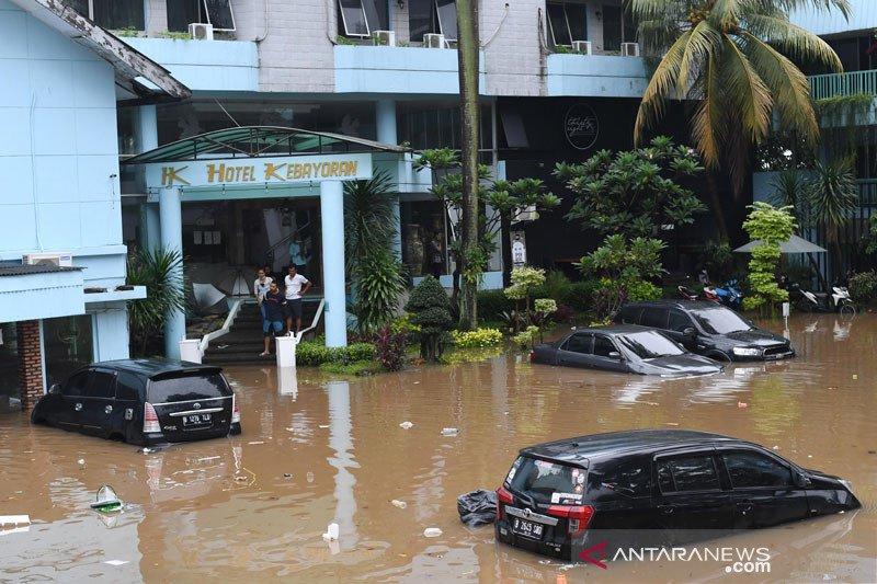 Anies: Curah hujan ekstrem penyebab banjir Jakarta