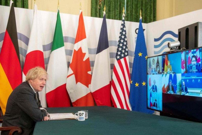 G7 akan lawan kebijakan non-pasar China untuk jamin perdagangan bebas