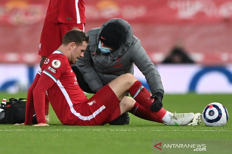 Cedera Jordan Henderson makin perparah krisis Liverpool