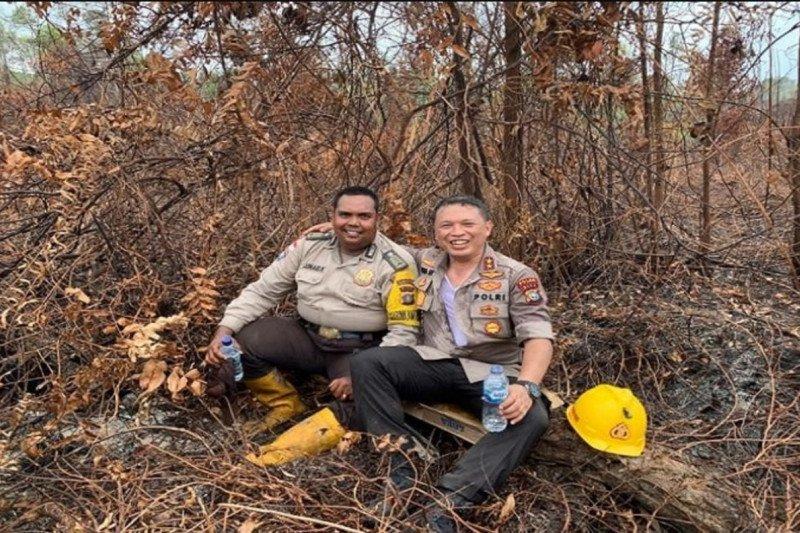 Polda Riau temukan 143 titik api pada Sabtu