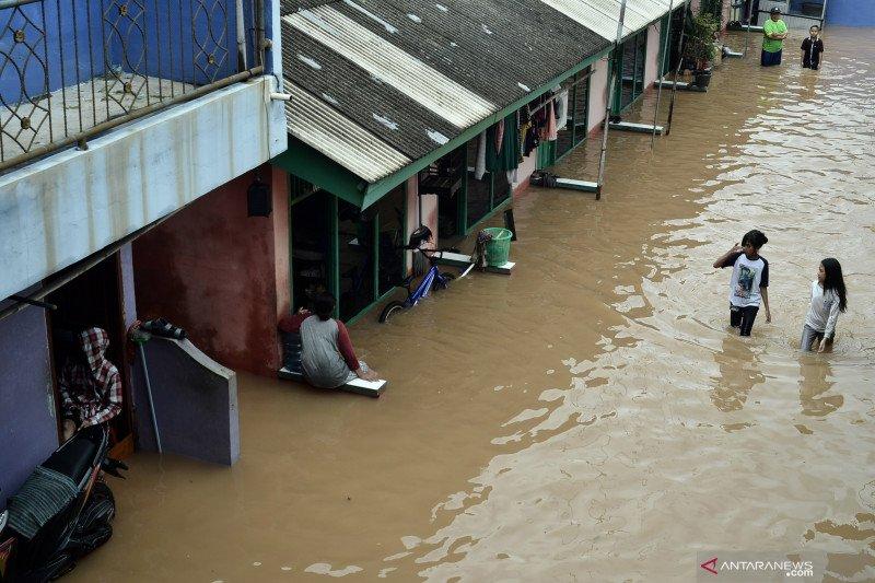 Banjir di Kabupaten Bekasi meluas