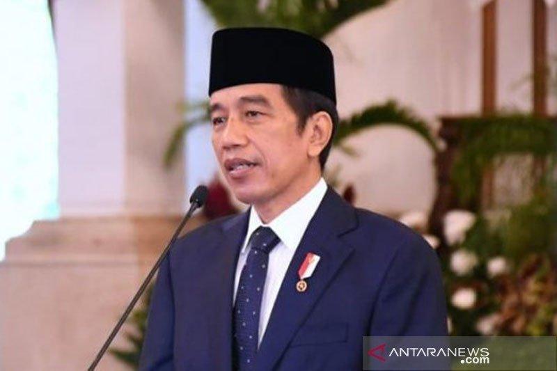 Presiden Jokowi lantik gubernur-wakil gubernur Bengkulu 2021-2024