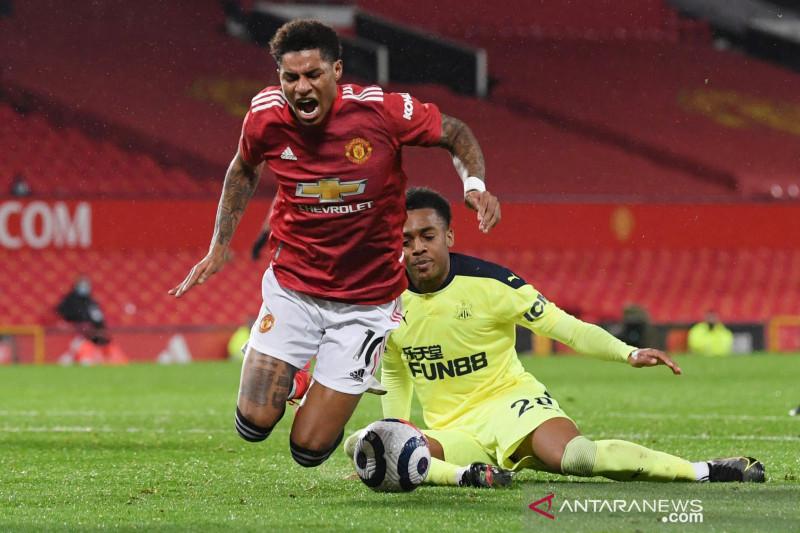 Liga Inggris: Manchester United  menang atas Newcastle United 3-1