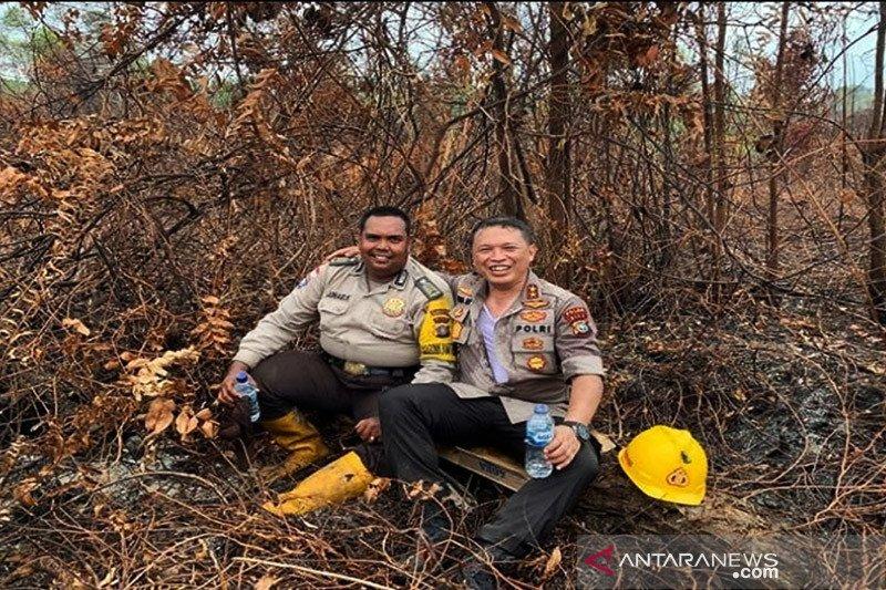Sejak awal 2021 hingga Februari Polda Riau tangani 6,25 ha karhutla