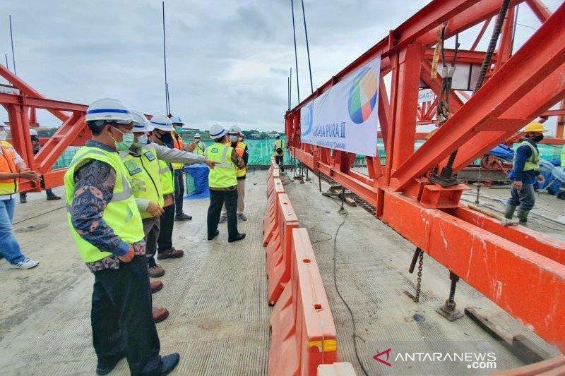 """WIKA """"topping off"""" jembatan utama akses ke Bandara Soekarno Hatta"""