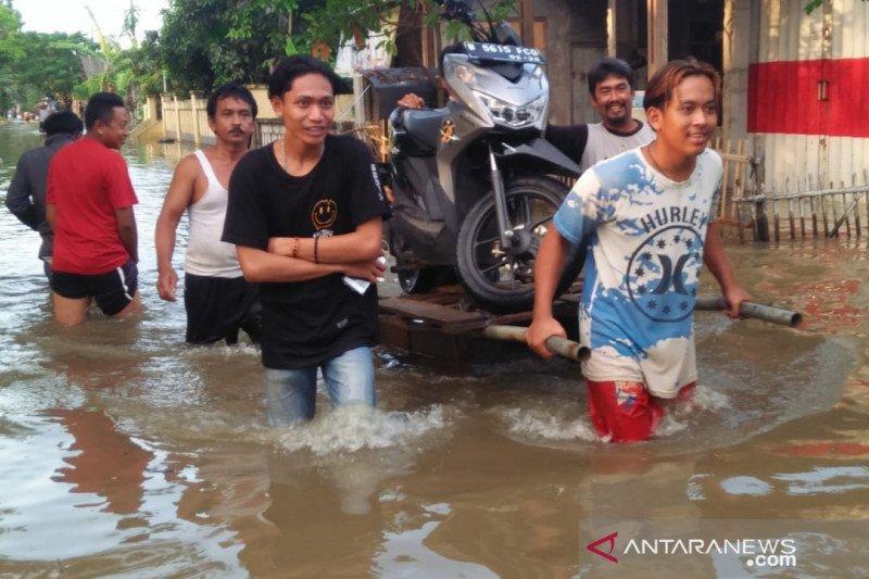 Atasi banjir, Kabupaten Bekasi prioritaskan perbaikan aliran sungai