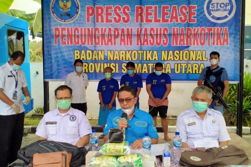 BNNP Sumut menggagalkan pengiriman pisang salai berisi sabu-sabu