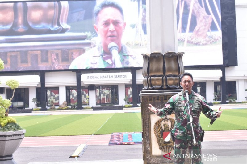 TNI Angkatan Darat gelar Rapim Tahun 2021, bahas kebijakan strategis