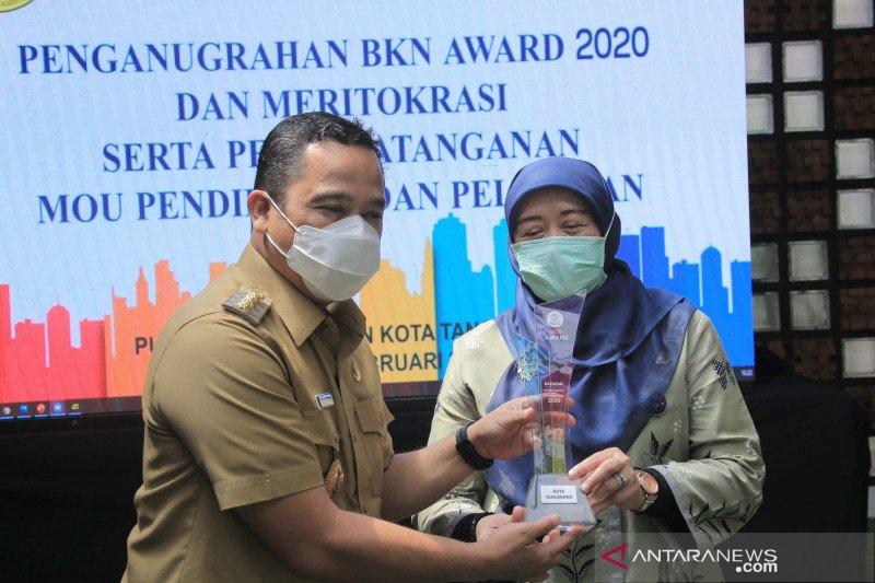 Kota Tangerang raih BKN Award manajemen ASN